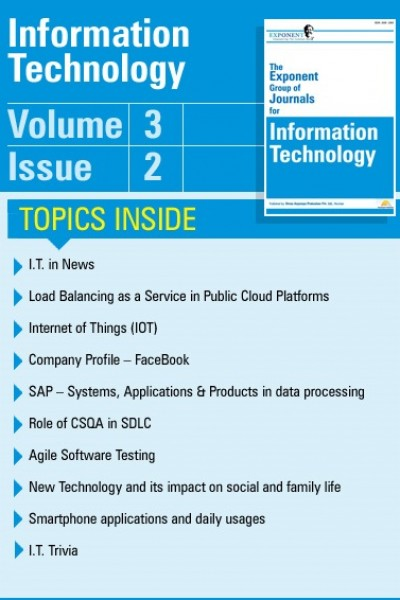 Information Technology – Volume 3 – Issue 2