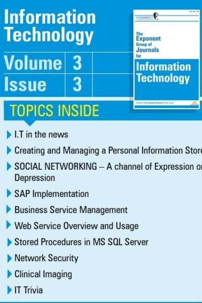 Information Technology – Volume 3 – Issue 3