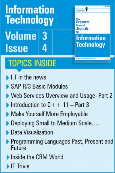 Information Technology – Volume 3 – Issue 4