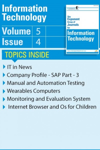 Information Technology – Volume 5 – Issue 4