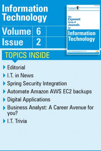 Information Technology – Volume 6 – Issue 2