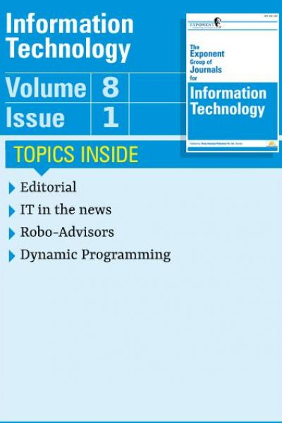 Information Technology – Volume 8 – Issue 1